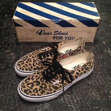 VANS VAN DOREN AUTHENTIC (LEOPARD/BLACK)