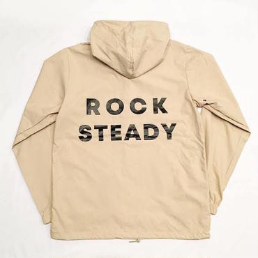 "【 tr.4 suspension 】""ROCK STEADY"" HOODED WINDBREAKER ( KHAKI )"
