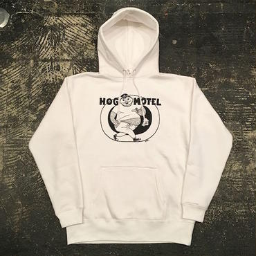 "【 LIFERS 】L-035 ""HOG MOTEL"" PULLOVER PARKA (WHITE)"