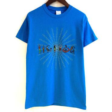 "mash MS-BDNS-23 ""BIG FROG"" Tee (BLUE)"