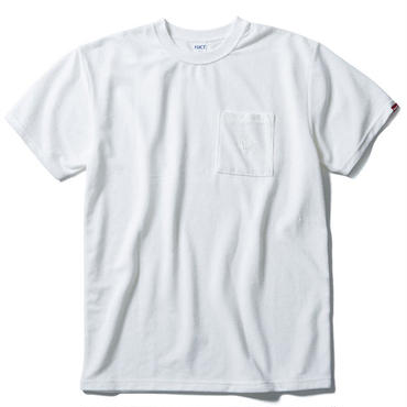 【 FUCT/SSDD 】48602 GENERAL FRENCH TERRY TEE (WHITE)