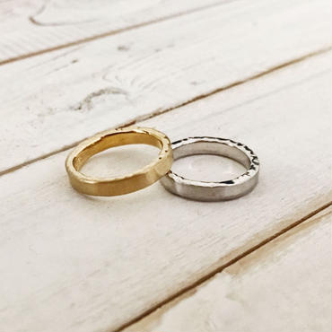 """Stone ring  """"side"""" 3mm"""