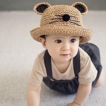 ベアー麦わら帽子