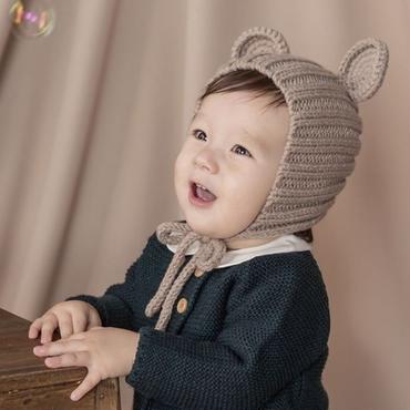 ベアーニット帽