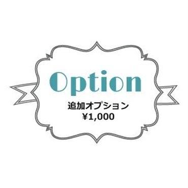 追加オプション*¥1,000