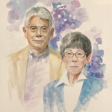家族の肖像画(A3)