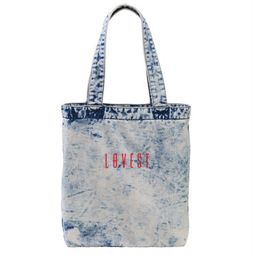 DENIM LOGO TOTEBAG / Ssize