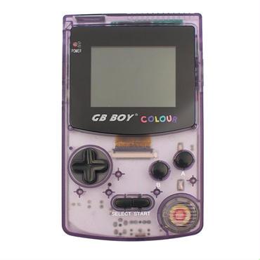 gb boy colour 通販 スケルトン カラー選択可能