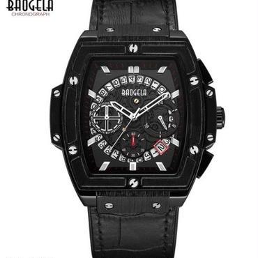 Baogela クロノグラフ 腕時計 ドレスウォッチ
