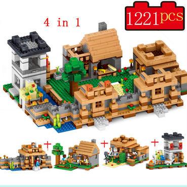 マインクラフトレゴ互換 森の秘密基地