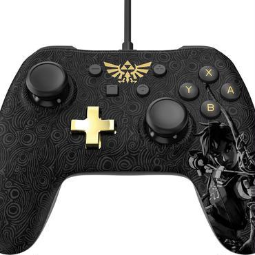 Nintendo switch コントローラーPlus 有線  ゼルダの伝説 ブレスオブザワイルド