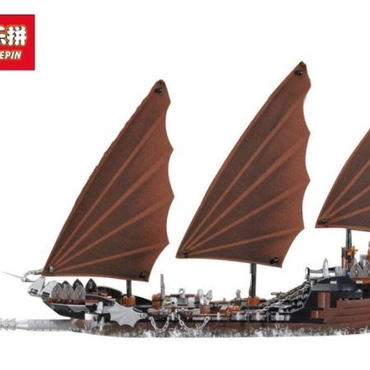 海賊船アンブッシュ  79008相当 レゴ互換 lepin 16018