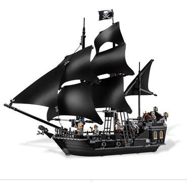 ブラックパール号 4184 パイレーツオブカリビアン レゴ71042相当互換品 LEPIN社 ジャックスパロウフィグ