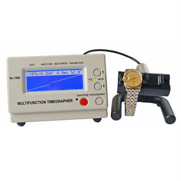 機械式時計タイムグラファー タイミングテスト測定