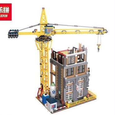 lepin 15031 4425ピース ビルと建設機 moc レゴ未発売