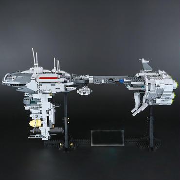 レゴ ( LEGO ) 風  EF76 ネビュロン B エスコートフリゲート 病院 互換 moc5083