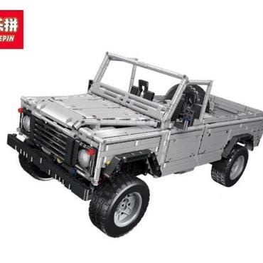 ランドローバー  レンジローバー ディスカバリー ディフェンダ レゴ互換MOC ー110風SUV