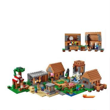 マインクラフトレゴ互換 ザ・ヴィレッジ The Village 21128相当