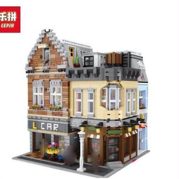 lepin レゴ未発売 15034 街、建物 moc 4210ピース
