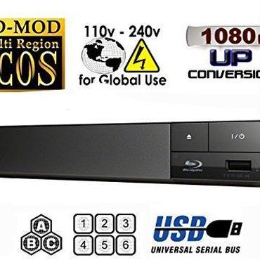 SONY リージョンフリー ブルーレイ/DVDプレーヤー(PAL/NTSC対応) 全世界のBlu-ray/DVDが視聴可能   Zone A B C - Region 1 2 3 4 5 6