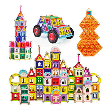 218ピースマグネットブロック磁石 早期教育知育玩具
