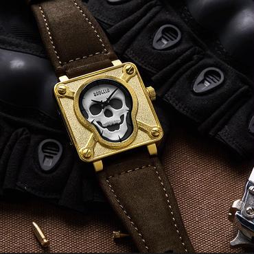 Baogela スカル  ドクロ腕時計