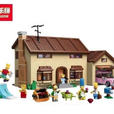 lepin 16005  シンプソンズハウス風 レゴ互換ブロック 71006