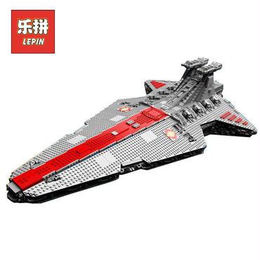 レゴ未発売 ヴェネター級スター・デストロイヤー Venator-class Star Destroyer 互換MOC Lepin 05077