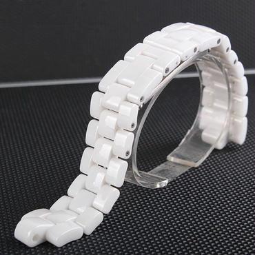 CHANEL シャネル J12 社外互換品腕時計 ベルト セラミック 6x16/7.5x19 mm