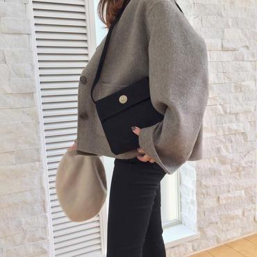 square bag / black