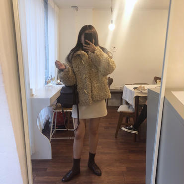 duffle boa coat