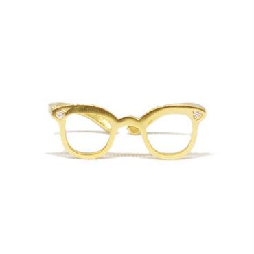 メガネモチーフリング