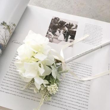 MARBLE & Co. お花のボールペン プティブーケ [white]