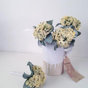 MARBLE & Co. お花のボールペン フルール 小花  [lemon yellow]