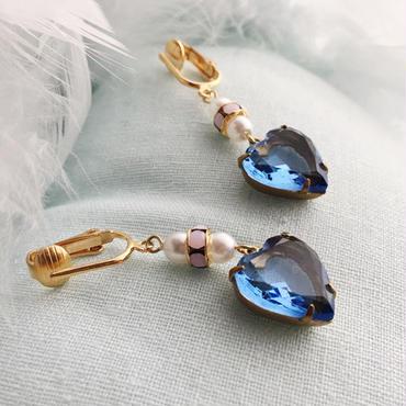 "LYS -fantasia for your dress- ""Rhapsody"" ピアス/イヤリング  [blue]"