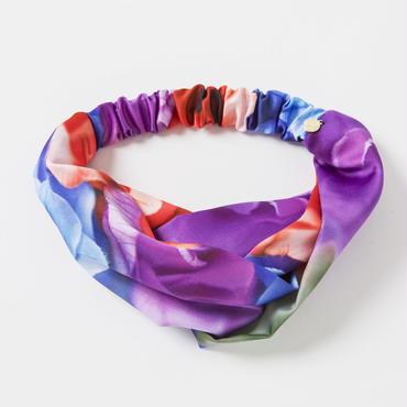 クロスヘアバンド(紫)