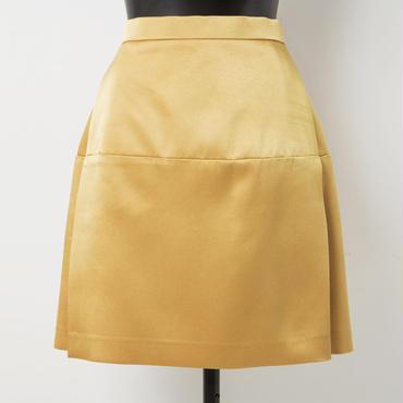 ショートスカート(ゴールド)