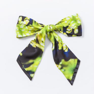 リボンスカーフ ( 管物菊柄 )