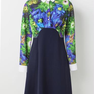 切り替えドレス(緑)