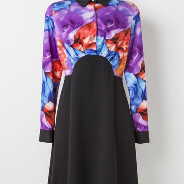 切り替えドレス(紫)