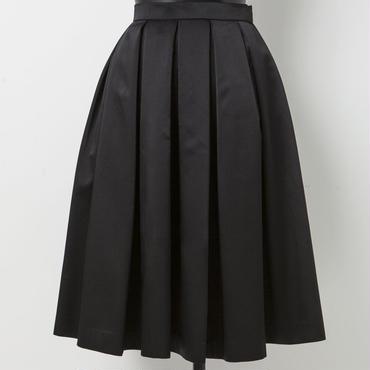 タックフレアスカート(ブラック)