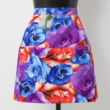 ショート丈スカート(紫)