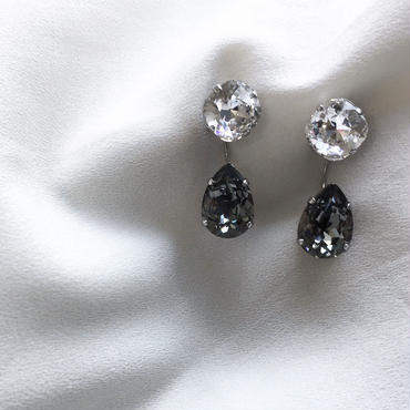 2way Luxury pierce Swarovski Crystals《ピアスのみ》
