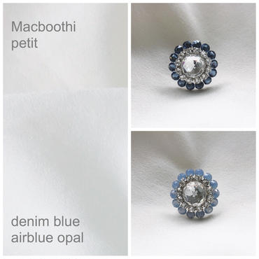 Macbooth petit / 5.denim blue 6.airblue opal