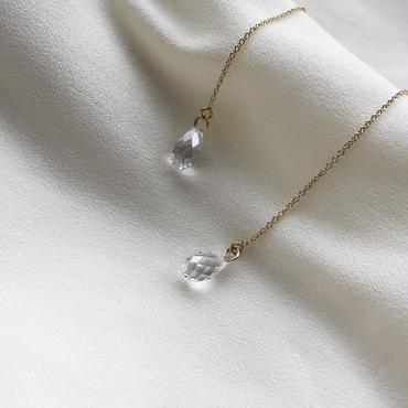 再販【数量限定】14kgf American pierce /Crystal silver shade《Pのみ》