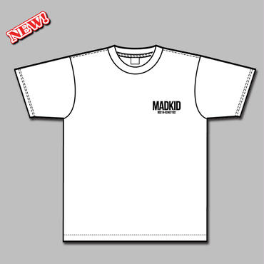 MADKID WHITE T-SHIRT