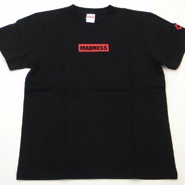 WEB SHOP限定!MADNESSオリジナルTシャツ ブラック