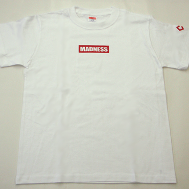 WEB SHOP限定!MADNESSオリジナルTシャツ ホワイト