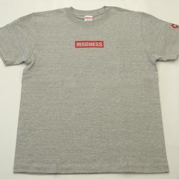 WEB SHOP限定!MADNESSオリジナルTシャツ ミックスグレー