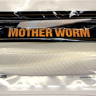 マザーワーム 8インチ チョークホワイト